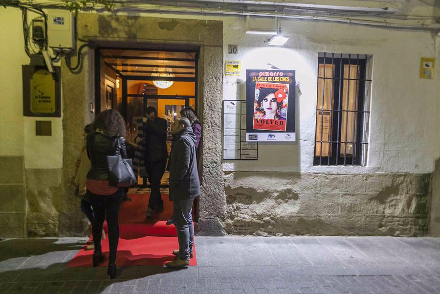 La zona de Pizarro se convierte este fin de semana en la Calle del Cine Español