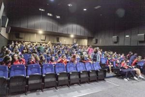 Estudiantes en el cine