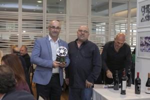 Fernando Toribio con el Premio San Pancracio Jaime Parodi al Compromiso Cultural 2017