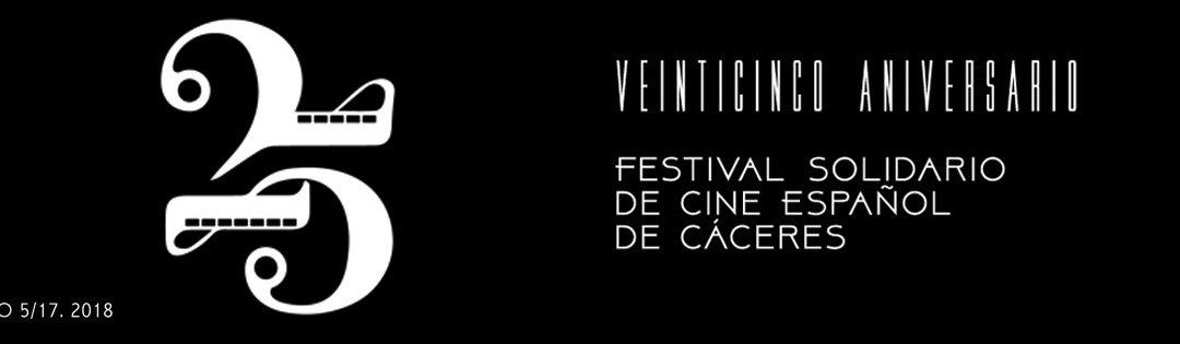 El Festival Solidario de Cine Español de Cáceres cumple 25 años