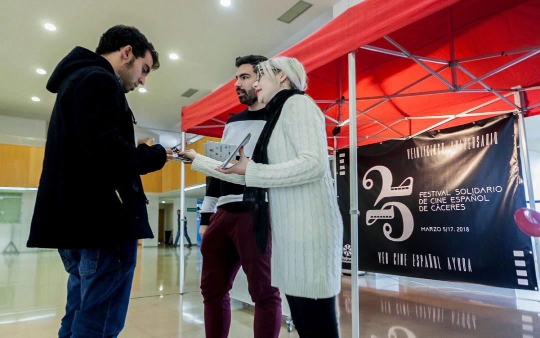 El Festival Solidario de Cine Español de Cáceres se acerca a los universitarios