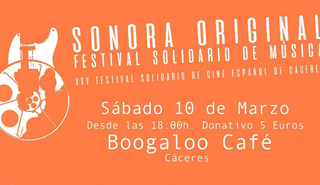 Boogaloo acogerá el sábado el concierto benéfico 'Sonora Original' para celebrar el 25 aniversario del Festival Solidario de Cine Español de Cáceres